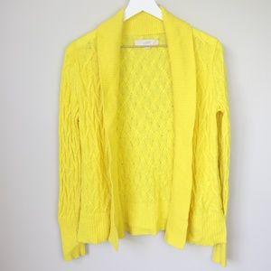 NWOT Loft Long Sleeve Open Cardigan Sweater